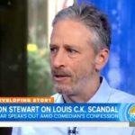 "Jon Stewart on the ""Today"" show."