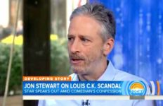"Jon Stewart on the ""Today"" show."