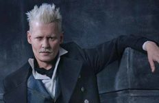 Johnny Depp as Gellert Grindelwald in upcoming Harry Potter prequel.