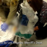 Deputies and other personnel at a jail in downtown Los Angeles save the life of a 19-year-old inmate who had stopped breathing after he and four others injested the opioid Fentanyl under the mistaken belief that it was methamphetamine. Phot from the Los Angeles Sheriffs Department/Facebook.