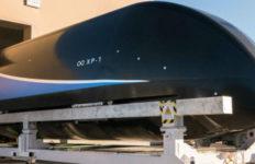Hyperloop One prototype