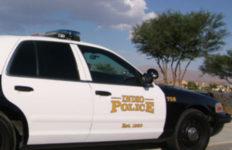 Indio Police cruiser