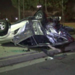 Jaguar wreckage