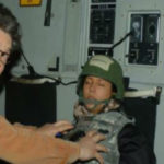 Al Franken and Leeann Tweeden. Photo from Leeann Tweeden/Twitter.