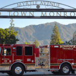 Monrovia Fire Department truck