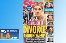 Cover of Star magazine features claim of $1 billion divorce of Kim Kardashian and Kanye West.