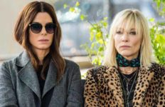 "Sandra Bullock and Cate Blanchett star in ""Ocean's 8,"" set for June 2018 release."