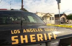 A sheriff's cruiser in Palmdale. Courtesy LASD