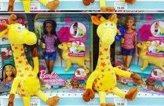 """Barbie Newborn Pups"" on display at a Toys R Us in Las Vegas."