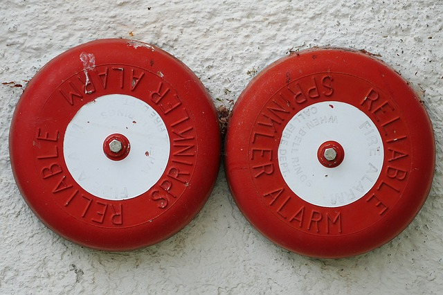 Fire alarms. Photo from Pixabay.