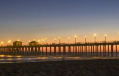 The Huntington Beach Pier. Photo from Pixabay.