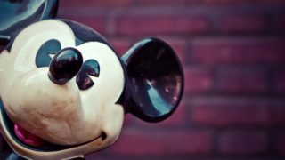 The Disney icon, Mickey Mouse. Photo from Pixabay.