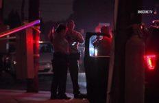 Police at Norwalk shooting