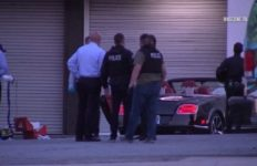 Bentley crime scene