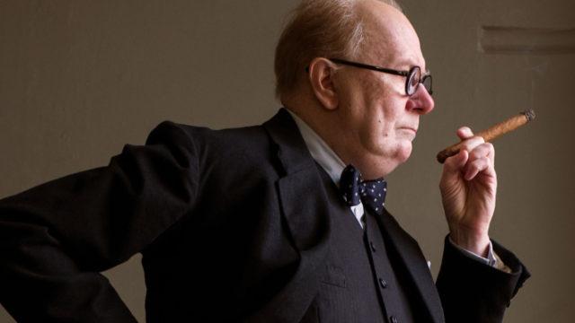 Gary Oldman as Churchill