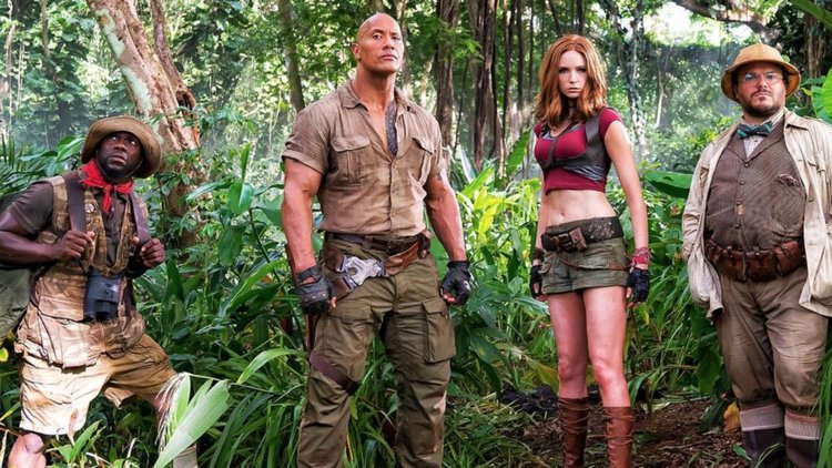 'Jumanji' bounds out of jungle to top N. American box office