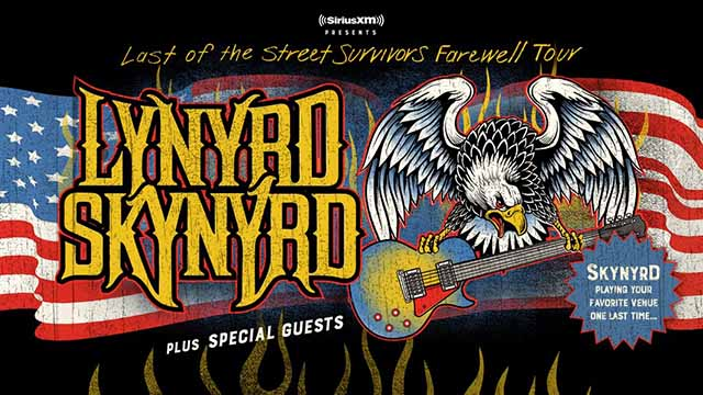 Lynyrd Skynyrd's Farewell Tour To Stop At KeyBank Pavilion
