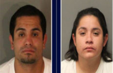Angela Mercado, 25, and Ramon Juan Pedraza, 30, were arrested in Riverside on suspicion of mail theft. Photo from the Riverside Police Department.
