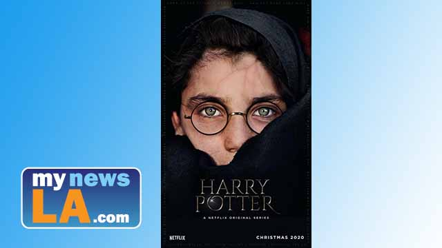 "Fake ""Harry Potter"" poster used an old National Geographic photo of brown-eyed Afghanistan girl."