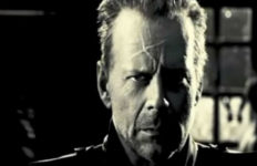 """Bruce Willis as Hartigan in the film """"Sin City."""" Photo from Miramax/YouTube"""