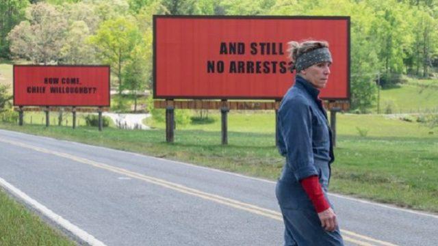 Three Billboards movie