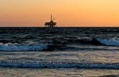 An oil rig sits offshore. The Trump administration has announced a plan to open more ocean waters to oil drilling. Photo from Pixabay.