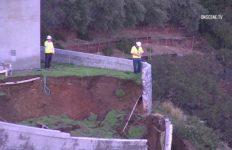 Malibu landslide