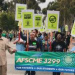 AFSCME 3299 protest