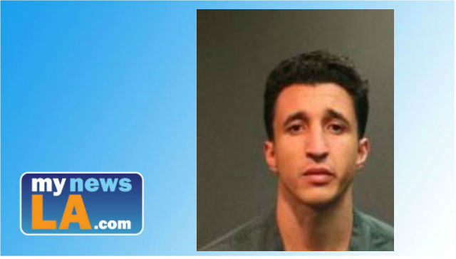 Eduardo Centeno  is facing a possible murder charge following the death Tuesday of his girlfriend's year-old son. Photo from the Santa Ana Police Department.