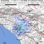 Lake Elsinore earthquake