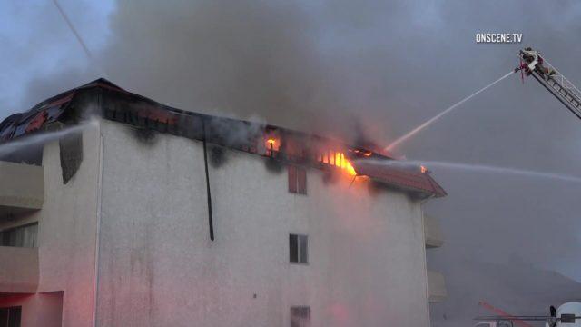 Pico Rivera fire