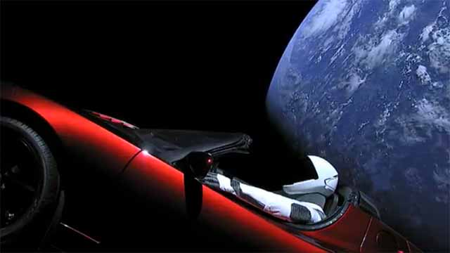 Where Is Starman? Elon Musk, SpaceX's Man Traveling Space In Tesla Roadster