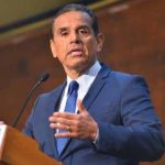 California governor candidate Antonio Villaraigosa speaks at San Diego debate.