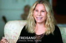 Barbra Streisand in her Variety interview.