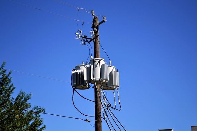 A power pole