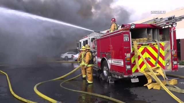Anaheim fire