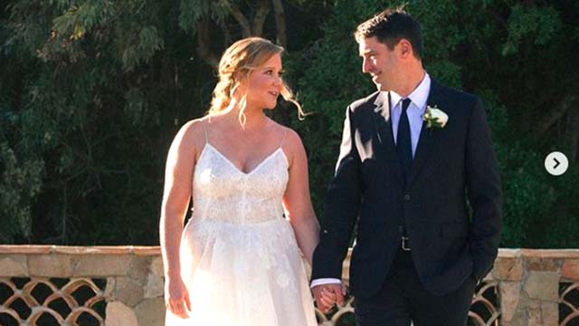 Amy Schumer and Chef Chris Fischer Tie The Knot