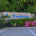 Sign of Woodbridge section of Irvine.
