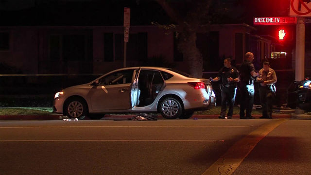 Azusa carjacking ends with two wounded from gunfire