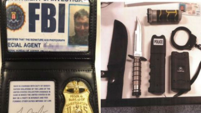 A Sunland man was arrested after allegedly trying to smuggle weapons into the Men's Central Jail using fake FBI credentials. Photo courtesy of the Los Angeles County Sheriff's Department.