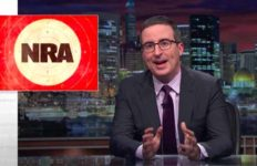"John Oliver on HBO's ""Last Week Tonight"" targets NRA TV."