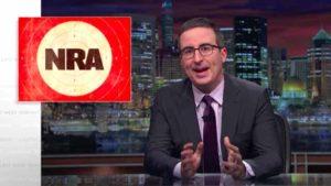 "John Oliver on HBO's ""Last Week Tonight"" targets NRA TV."