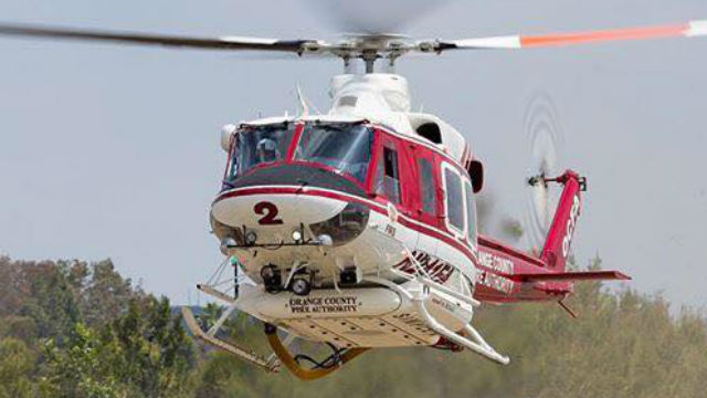Orange County Fire Authority helicopter