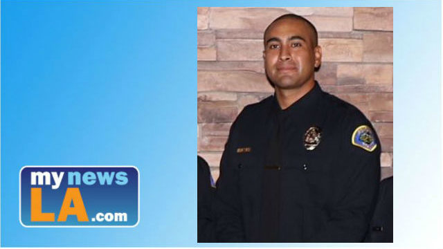 Funeral services were pending Monday for Pomona police officer Greggory Casillas who was killed in a shooting on Friday, March 9, 2018. Photo from the Pomona Police Department.