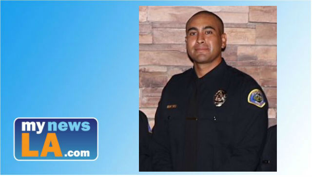 Funeral services were pending Monday for Pomona police officer Gregory Casillas who was killed in a shooting on Friday, March 9, 2018. Photo from the Pomona Police Department.