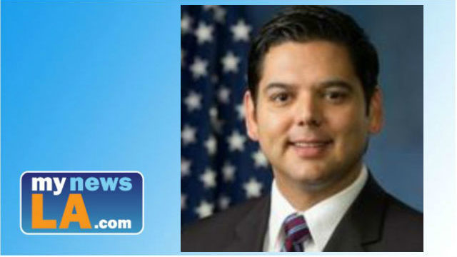 Rep. Raul Ruiz D-Palm Springs was recognized by a nonprofit group for his efforts to seek bipartisan solutions in Congress. Photo from Congressman Raul Ruiz.