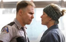 "Sam Rockwell and Frances McDormand in ""Three Billboards Outside Ebbing, Missouri."" Photo: 20th Century Fox."