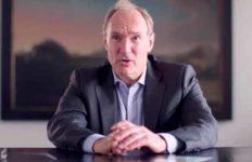 Sir Tim Berners-Lee, inventor of the World Wide Web.