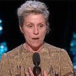 Frances McDormand in Oscar acceptance speech for Best Actress.