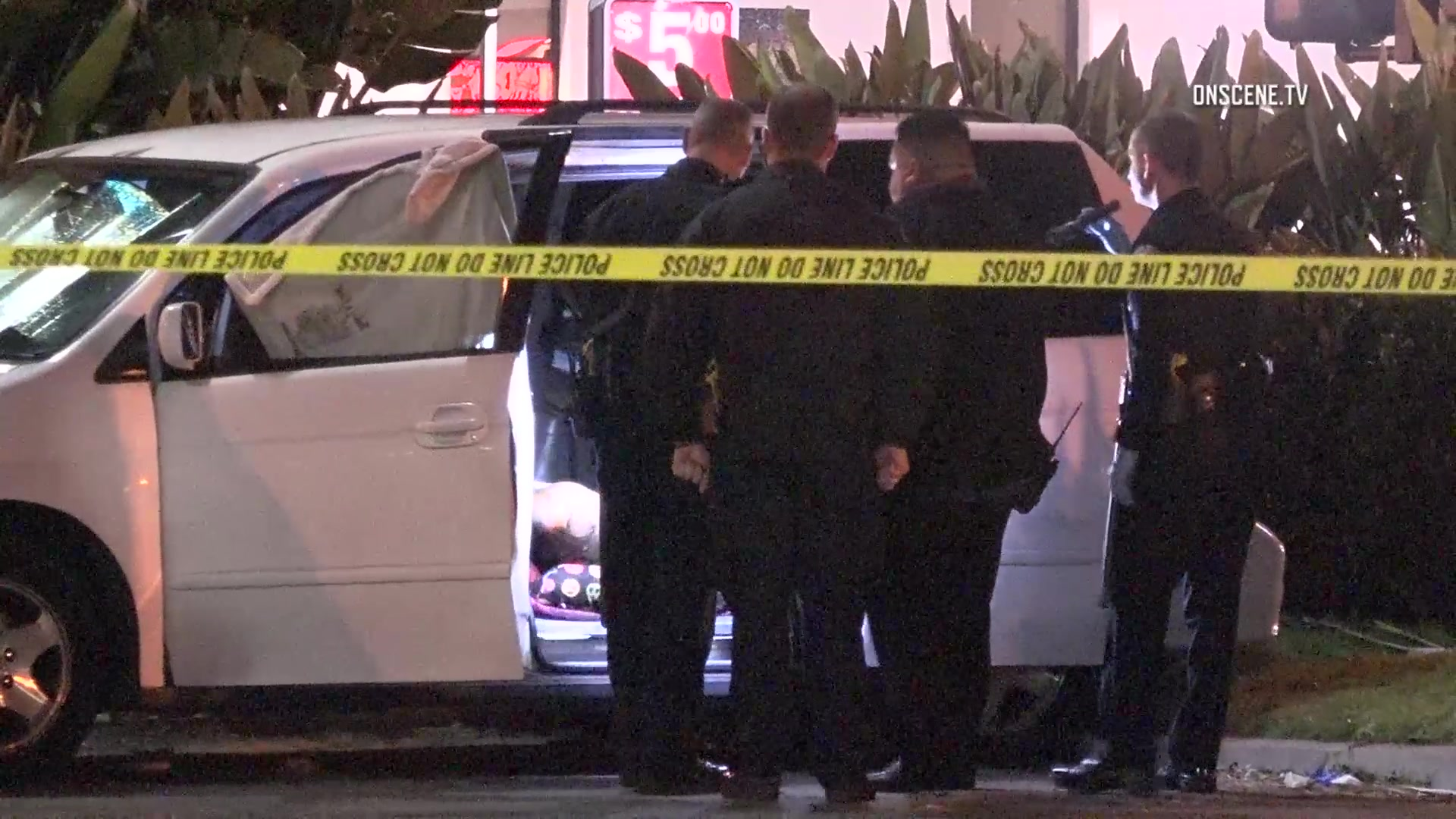 4 people found dead in parked van in Southern California
